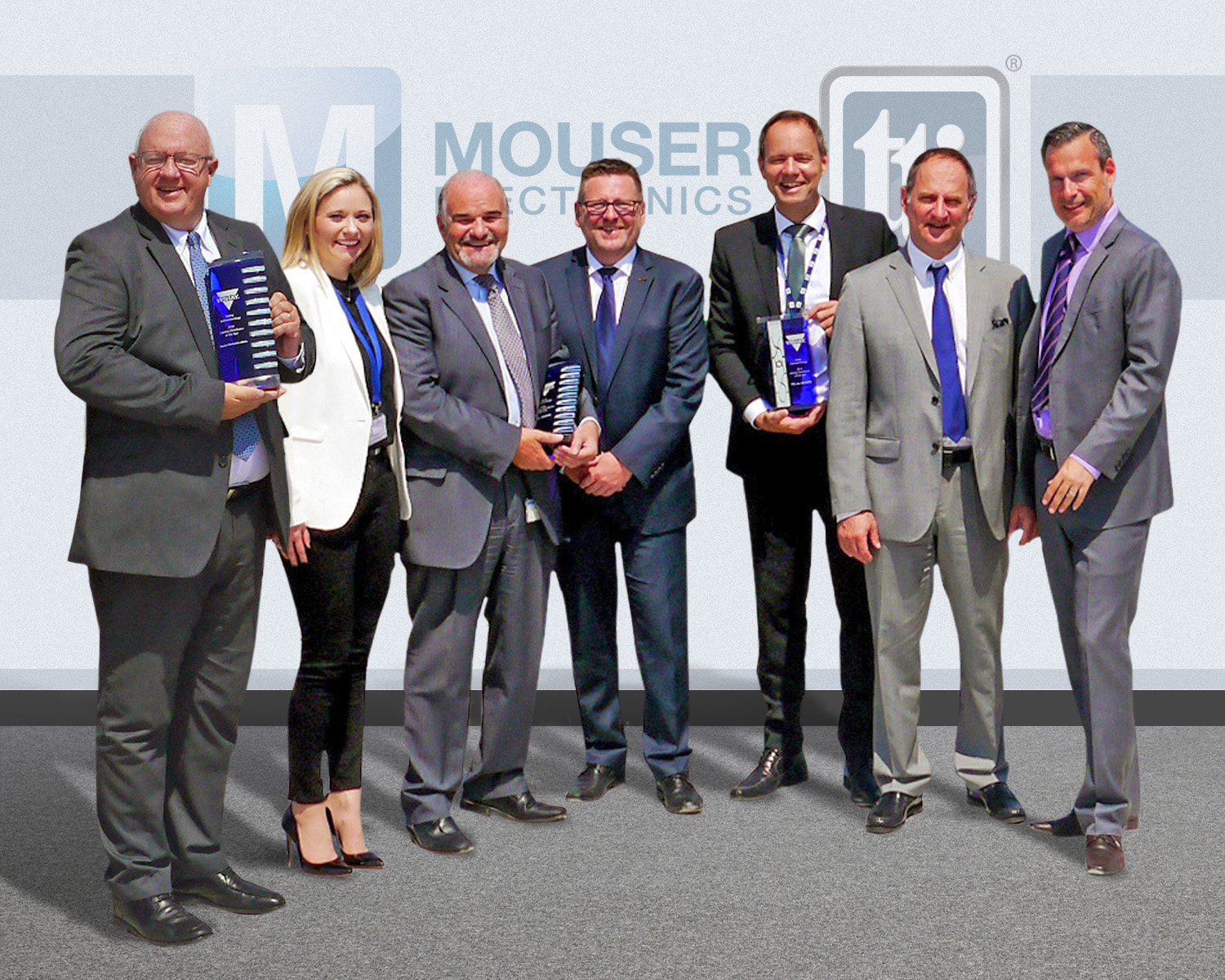 TTI and Mouser capture European distribution awards from Vishay